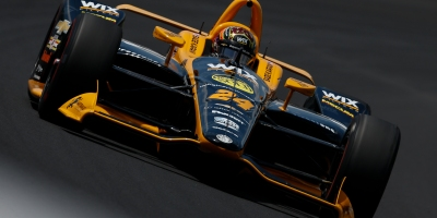 IndyCar driver Sage Karam preparing for the 2019 Indianapolis 500